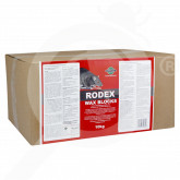 pelgar rodenticide rodex wax blocks 10 kg - 1, small