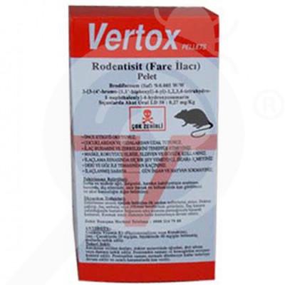 pelgar rodentisit vertox pelet 100 g - 1