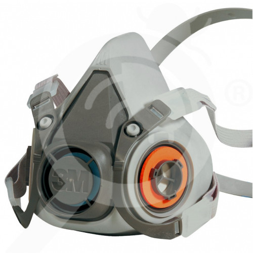 3m solunum maskesi half face mask respirator 6000 series - 1, small