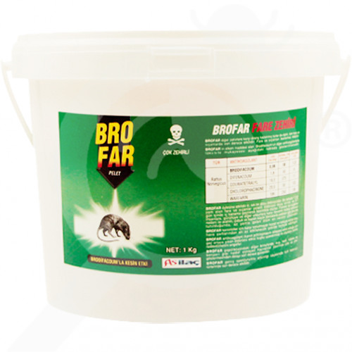 as ilac rodentisit brofar pelet 10 kg - 1