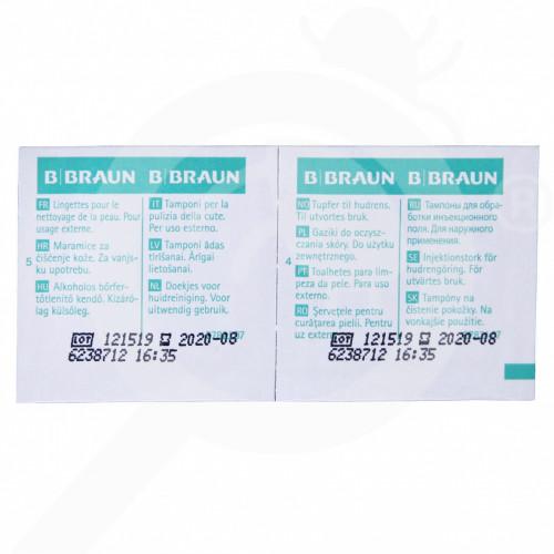 b braun dezenfektant alcohol pads 100 per box - 1, small