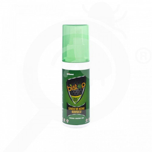 tr chrysamed repellent biostop repellent spray 100 ml - 1, small