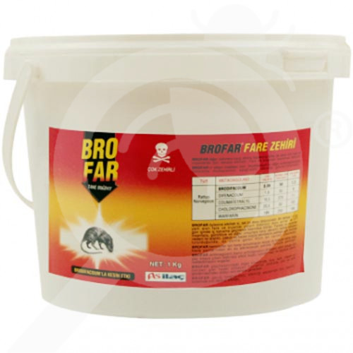 as ilac rodentisit brofar pasta 1 kg - 2, small