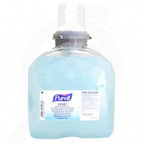 gojo dezenfektant purell vf481 tfx 1 2 litres - 1, small