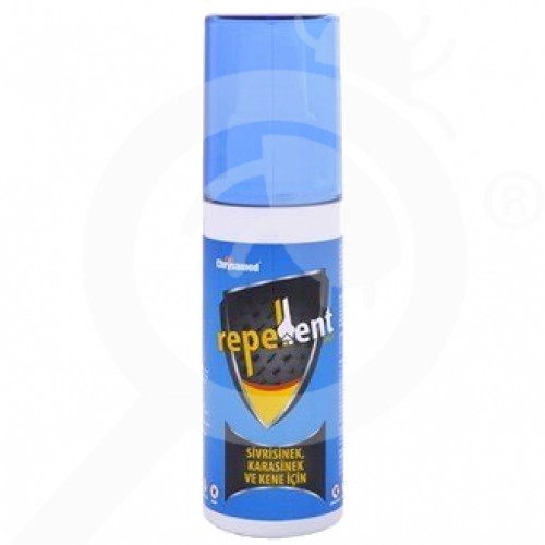 tr chrysamed repellent repellent body spray 100 ml - 1, small