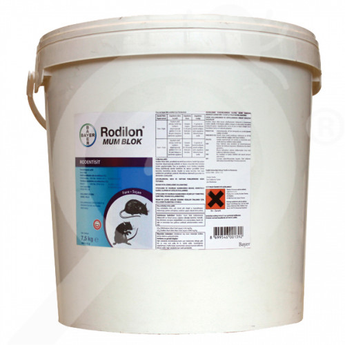 bayer rodentisit rodilon mum blok 7 5 kg - 2, small