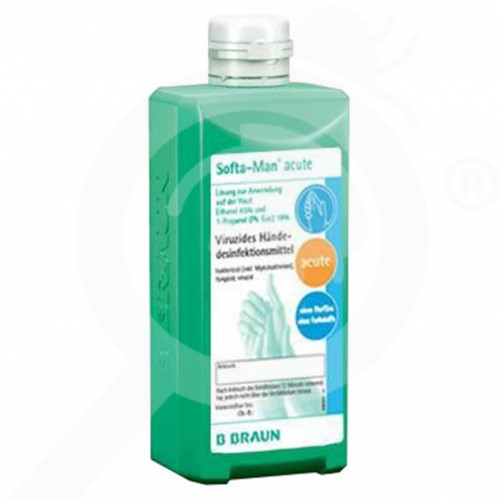 b braun dezenfektant softa man acute 500 ml - 1, small
