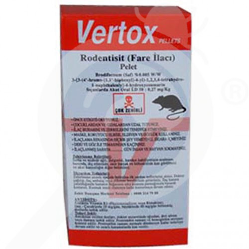 pelgar rodentisit vertox pelet 100 g - 1, small