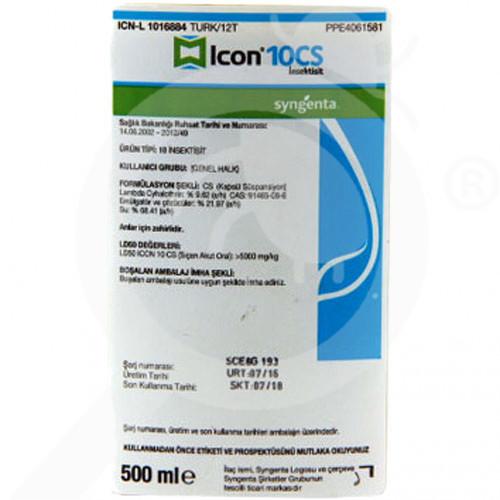 syngenta insektisit i̇con 10 cs 500 ml - 1