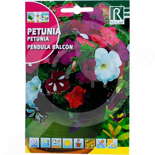 de rocalba seed petunia pendula balcon 0 5 g - 0, small