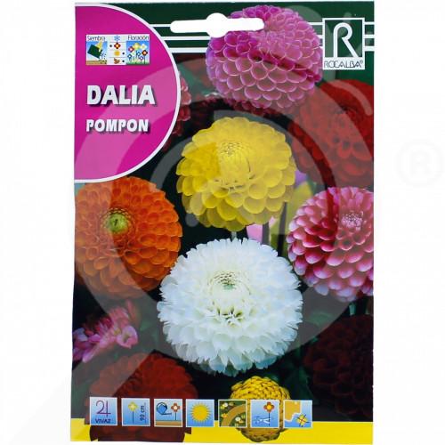 de rocalba seed dahlia pompon 2 g - 0, small