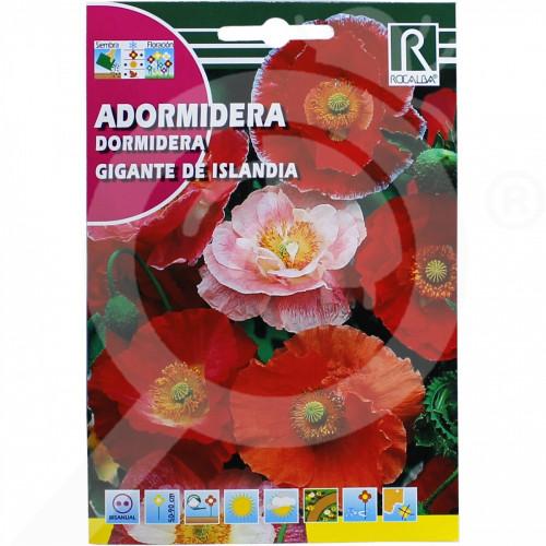 de rocalba seed poppy gigante de islandia 1 g - 0, small