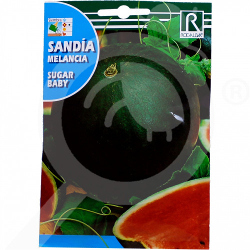 de rocalba seed green watermelon sugar baby 10 g - 0, small