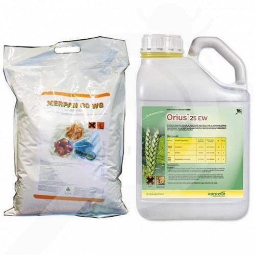 de adama fungicide merpan 80 wdg 9 kg orius 25 ew 3 l veloc 2 l - 0, small