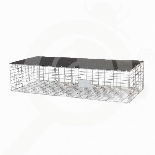 de bird x trap pigeon trap with shade 89x41x20 cm - 0, small
