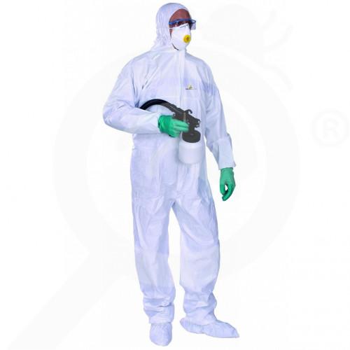 delta plus schutzausrüstung chemikalienschutzkleidung dt115 xxxl - 1, small