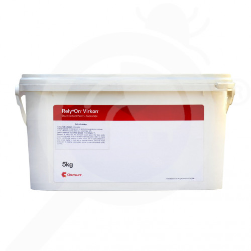 de dupont disinfectant rely on virkon 5 kg - 2