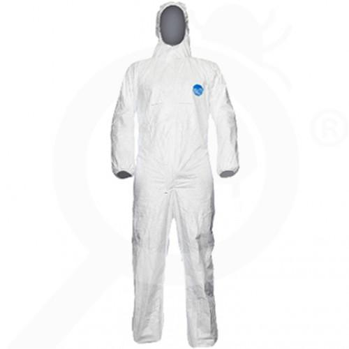 dupont schutzausrüstung chemikalienschutzkleidung tyvek chf5 l - 1, small