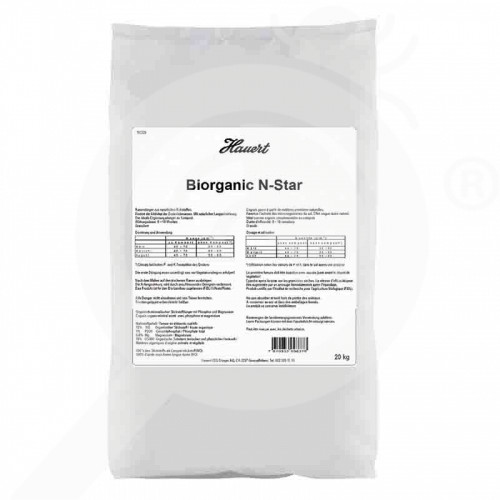 de hauert fertilizer biorganic n star 20 kg - 0, small