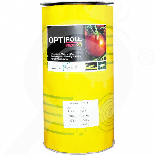 de russell ipm adhesive trap optiroll yellow - 1, small