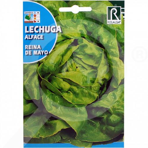 de rocalba seed green lettuce reina de mayo 6 g - 0, small
