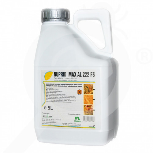 de nufarm seed treatment nuprid max al 222 fs 5 l - 0, small