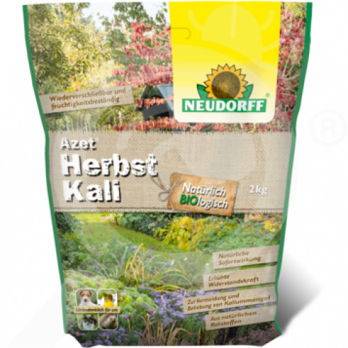 de mack bio agrar fertilizer 0 0 40 azet herbstkali 2 kg - 0
