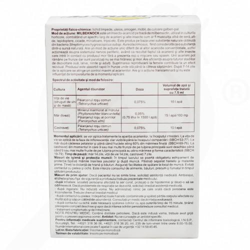 de sankyo agro insecticide crop milbeknock ec 7 5 ml - 0