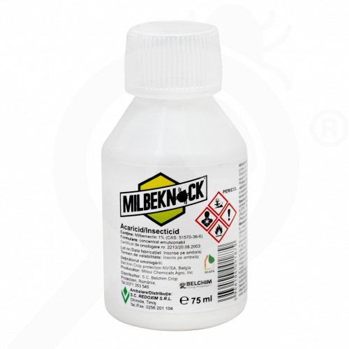 de sankyo agro acaricide milbeknock ec 75 ml - 0