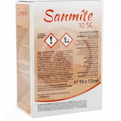 de nissan chemical insecticide crop sanmite 10 sc 150 ml - 1
