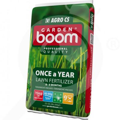 it garden boom fertilizer once a year 25 05 08 3mgo 15 kg - 0