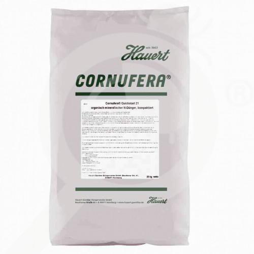 it hauert fertilizer grass cornufera quickstart 21 25 kg - 0, small