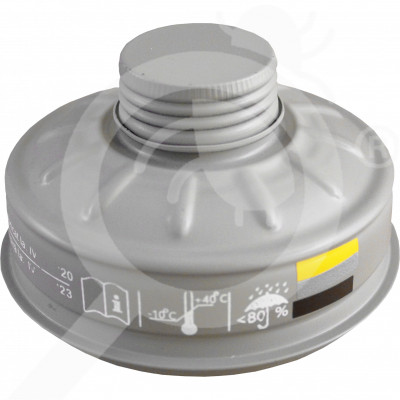 eu romcarbon safety equipment gas mask filter p2440 a1b1e1 - 0