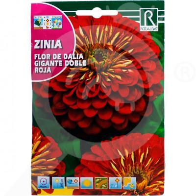 eu rocalba seed flor de dalia gigante doble roja 4 g - 0