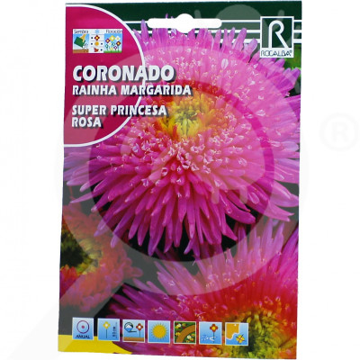 eu rocalba seed daisies super princesa rosa 2 g - 0