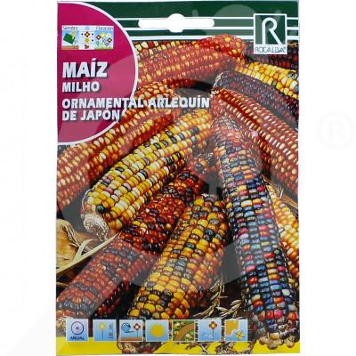 eu rocalba seed corn milho arlequin de japon 10 g - 0