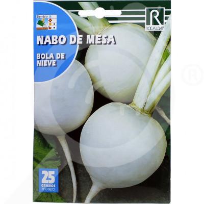 eu rocalba seed round white radish bola de nieve 25 g - 0