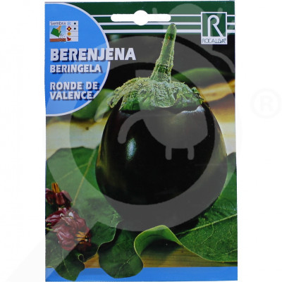 eu rocalba seed eggplant ronde de valence 3 g - 0