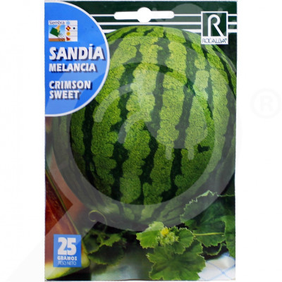 eu rocalba seed green watermelon crimson sweet 25 g - 0