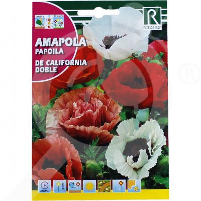eu rocalba seed poppy de california doble 2 g - 0
