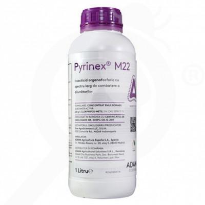 eu adama insecticid agro pyrinex m22 1 litru - 1