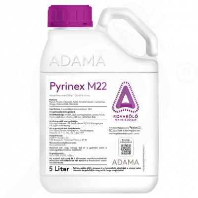 eu adama insecticid agro pyrinex m22 5 litri - 1