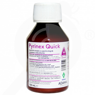 eu adama insecticid agro pyrinex quick 100 ml - 1