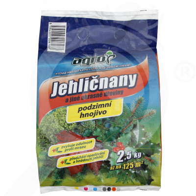 eu agro cs fertilizer decorative conifer shrub autumn 2 5 kg - 0