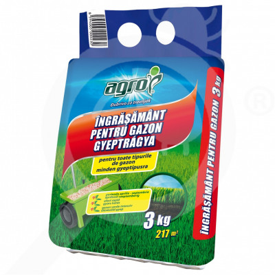 eu agro cs fertilizer grass 3 kg - 0