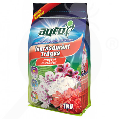 eu agro cs fertilizer organo mineral pelargonium 1 kg - 0