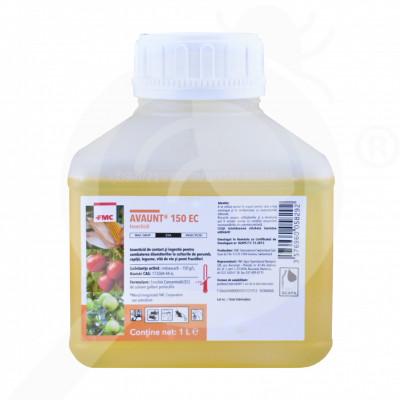 eu fmc insecticide crop avaunt 150 ec 1 l - 1