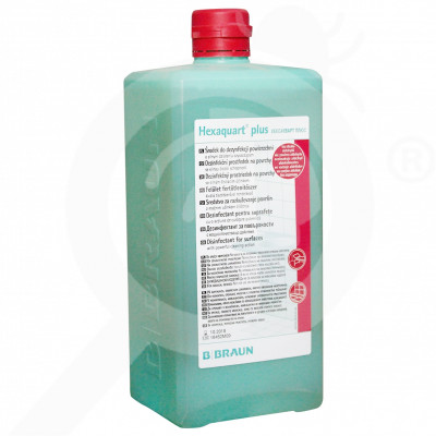 b braun disinfectant hexaquart plus 1 litre - 1