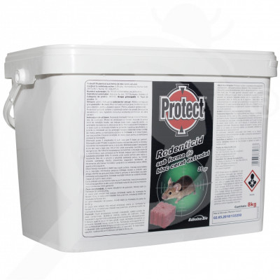 eu babolna bio rodenticide protect wax block 8 kg - 3