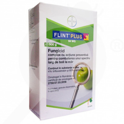 eu bayer fungicid flint plus 64 wg 500 g - 1
